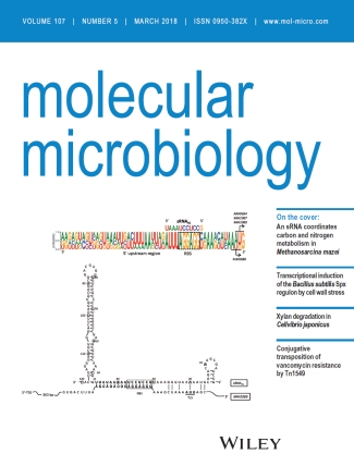 Cover Molecular Microbiology March 2018
