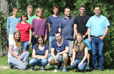 MitarbeiterInnen der Arbeitsgruppe Bramkamp / members of the Bramkamp working group