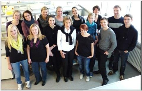 MitarbeiterInnen der AG Schmitz-Streit