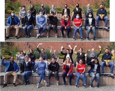 MitarbeiterInnen der AG Schmitz-Streit/Members of the working group Schmitz-Streit